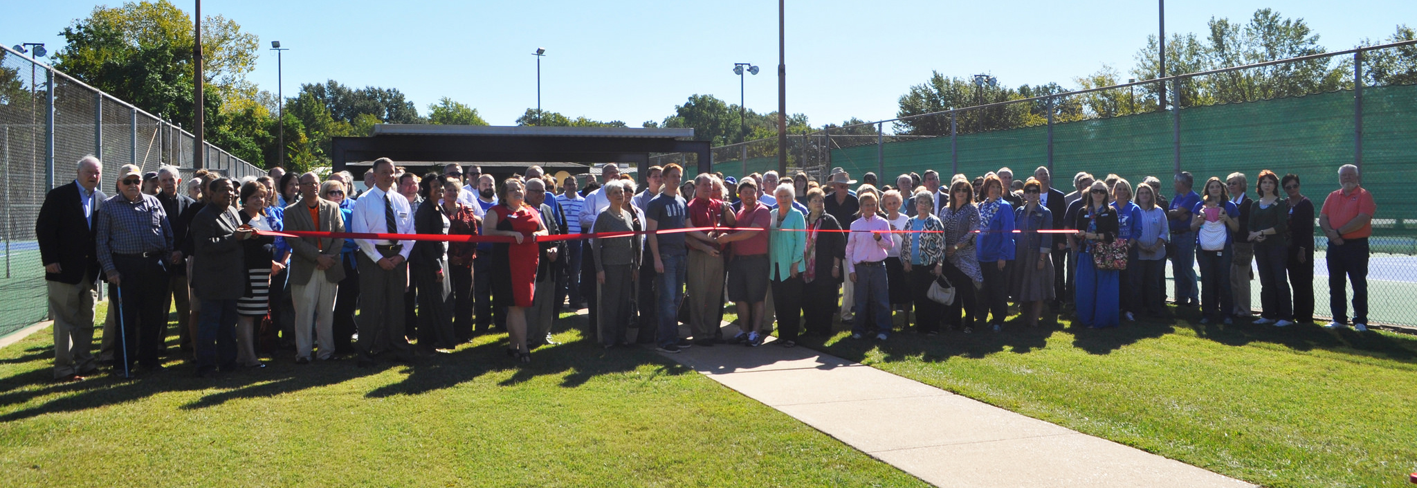 TC Foundation hosts dedication ceremony in honor of Cindy Cook Sandefur