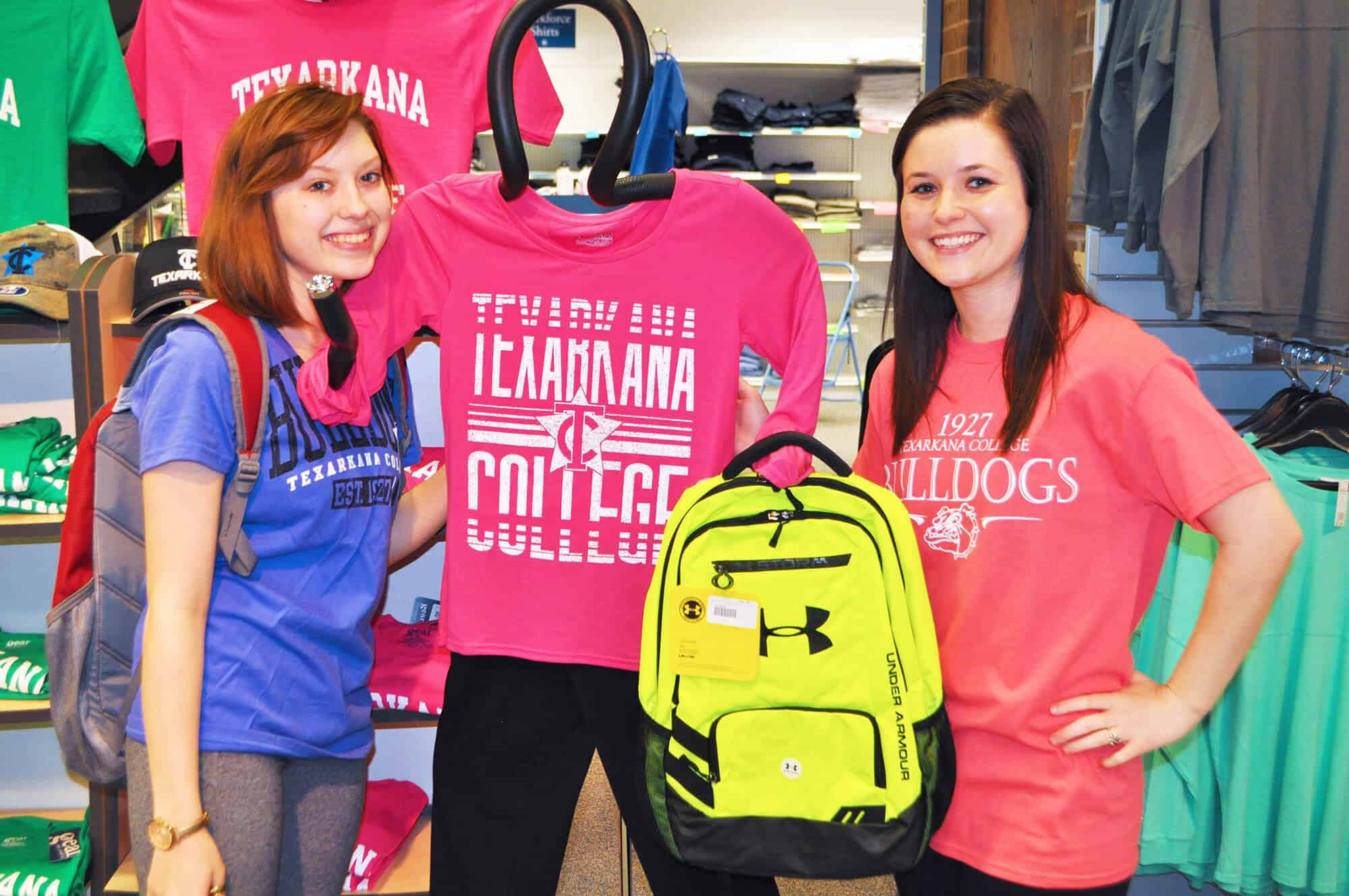 Stock up on TC gear in bookstore apparel sale