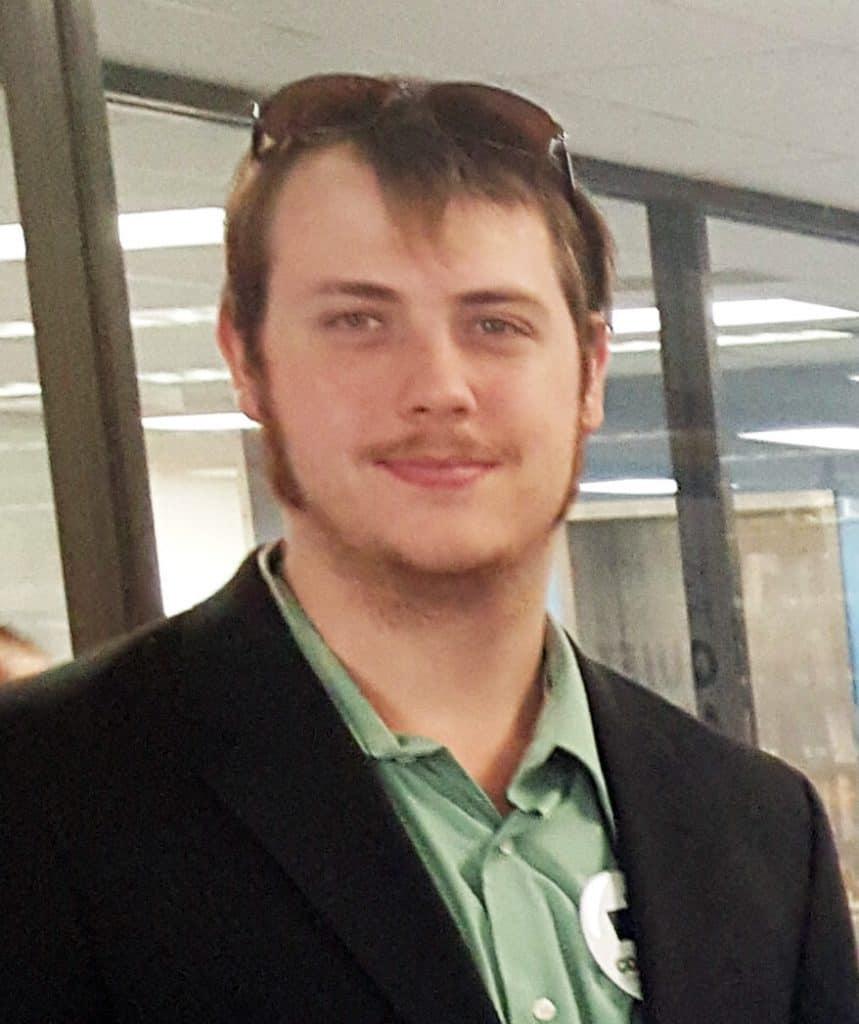 Student Timothy Barnes