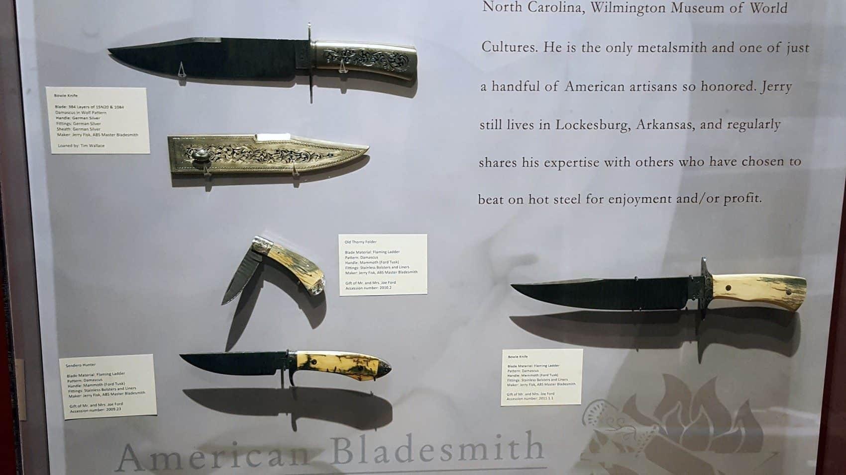 American Bladesmith Society honors former Texarkana College employees
