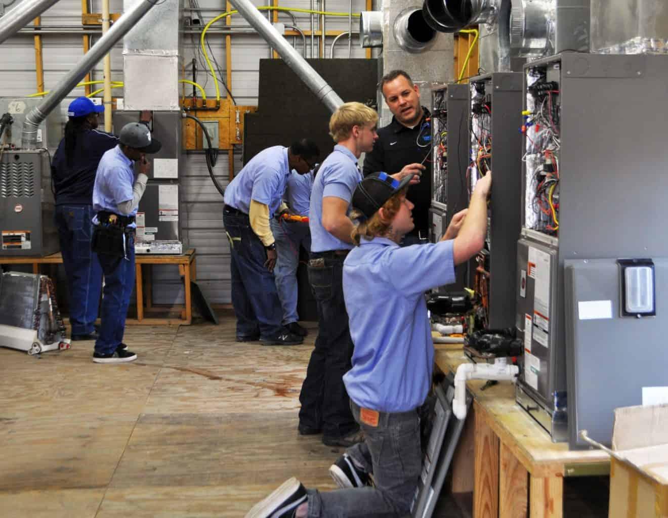 Trustees Approve New HVAC Degree