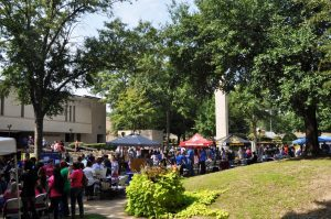 TC students enjoy Fall Fest, an annual outdoor gathering where students can join student clubs and organizations. Preliminary numbers show an increase in enrollment at Texarkana College.