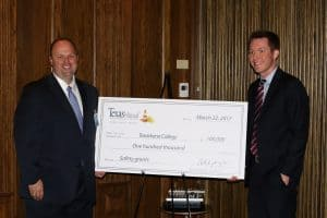 photo from Texas Mutual Check Presentation - March 22, 2017