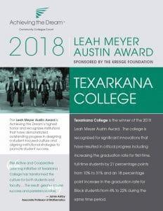 2018 Leah Meyer Austin Award winner