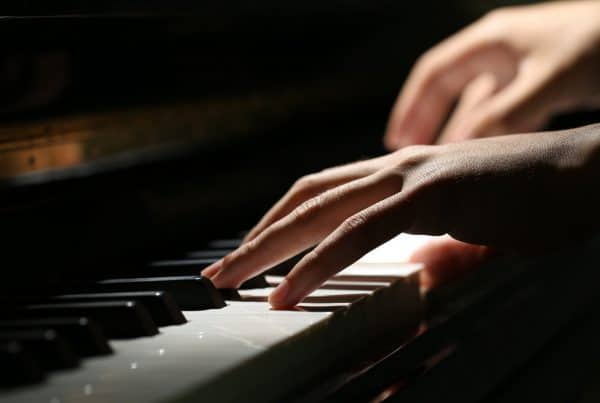 Magical keys of piano photo