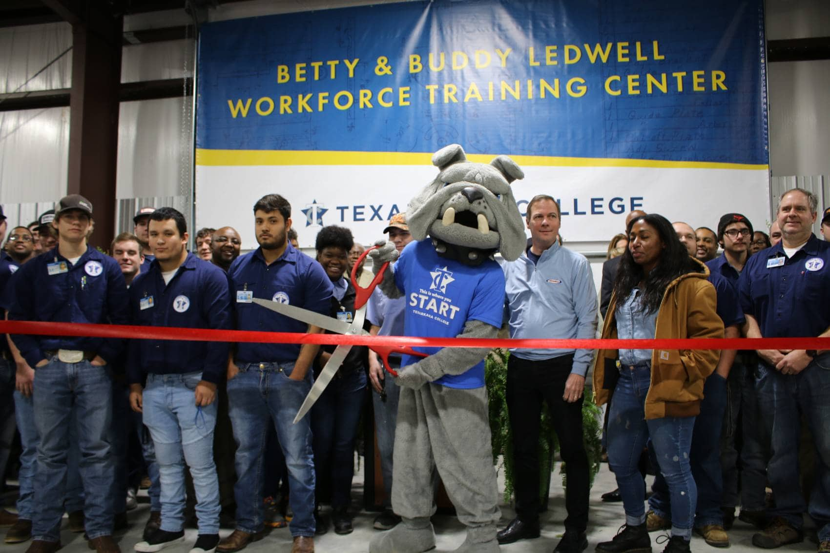 Texarkana College Opens New Workforce Training Center in Honor of Ledwell Family