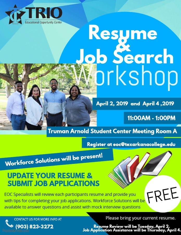 TC TRIO EOC Resume & Job Search