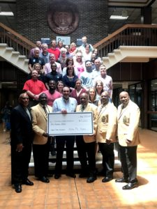 Robert A. Jones Scholarship Fund group photo