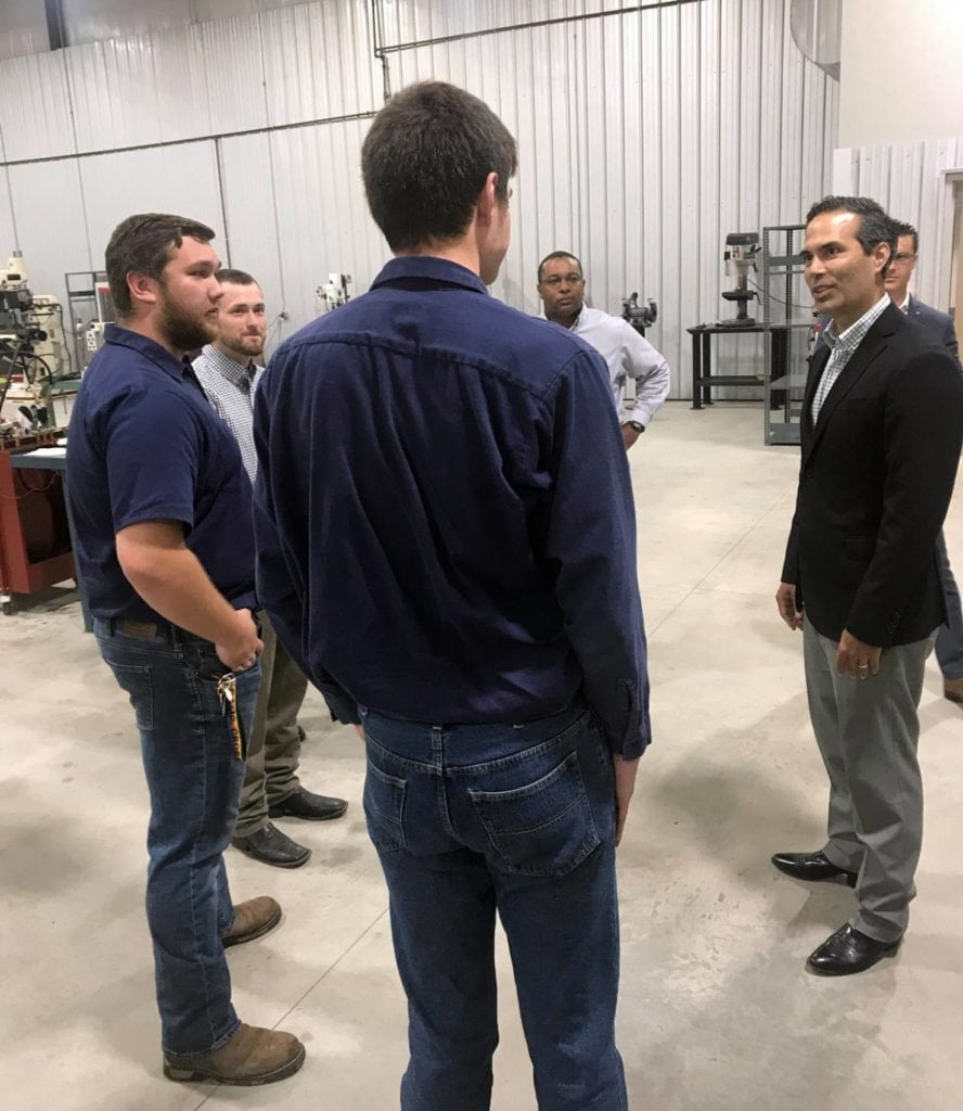 Texas Land Commissioner George P. Bush visits TC, June 24, 2019