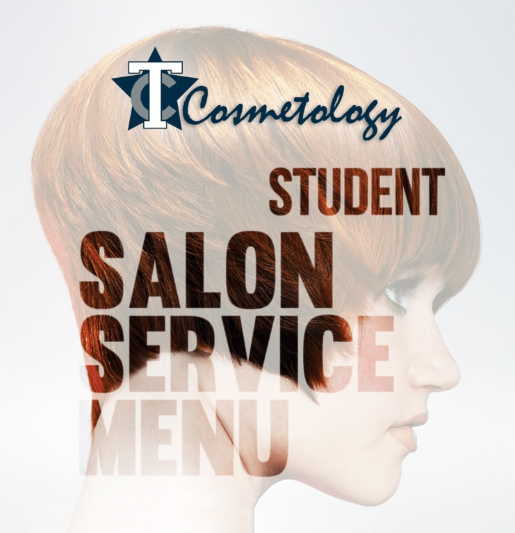 TC Cosmetology Student Salon Service Menu