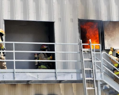 TC Fire Academy in training