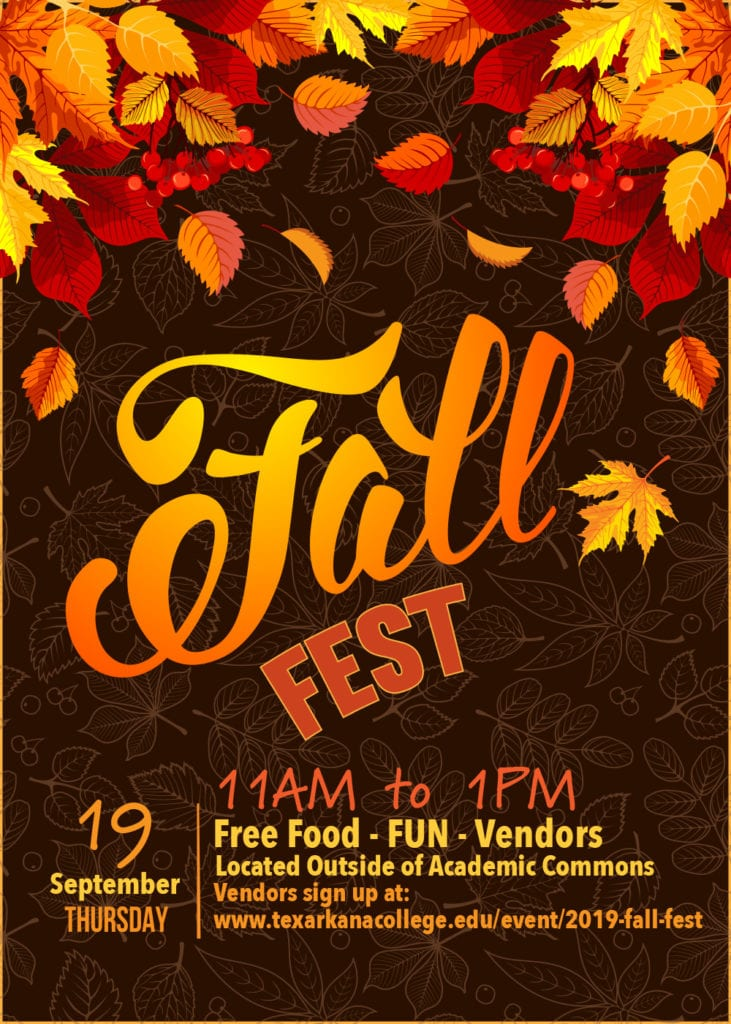 Fall Fest 2019 - September 19, 11am to 1pm