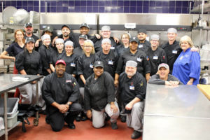 TC Culinary with Walk-On's Bistreaux & Bar (Texarkana, Texas) management team.