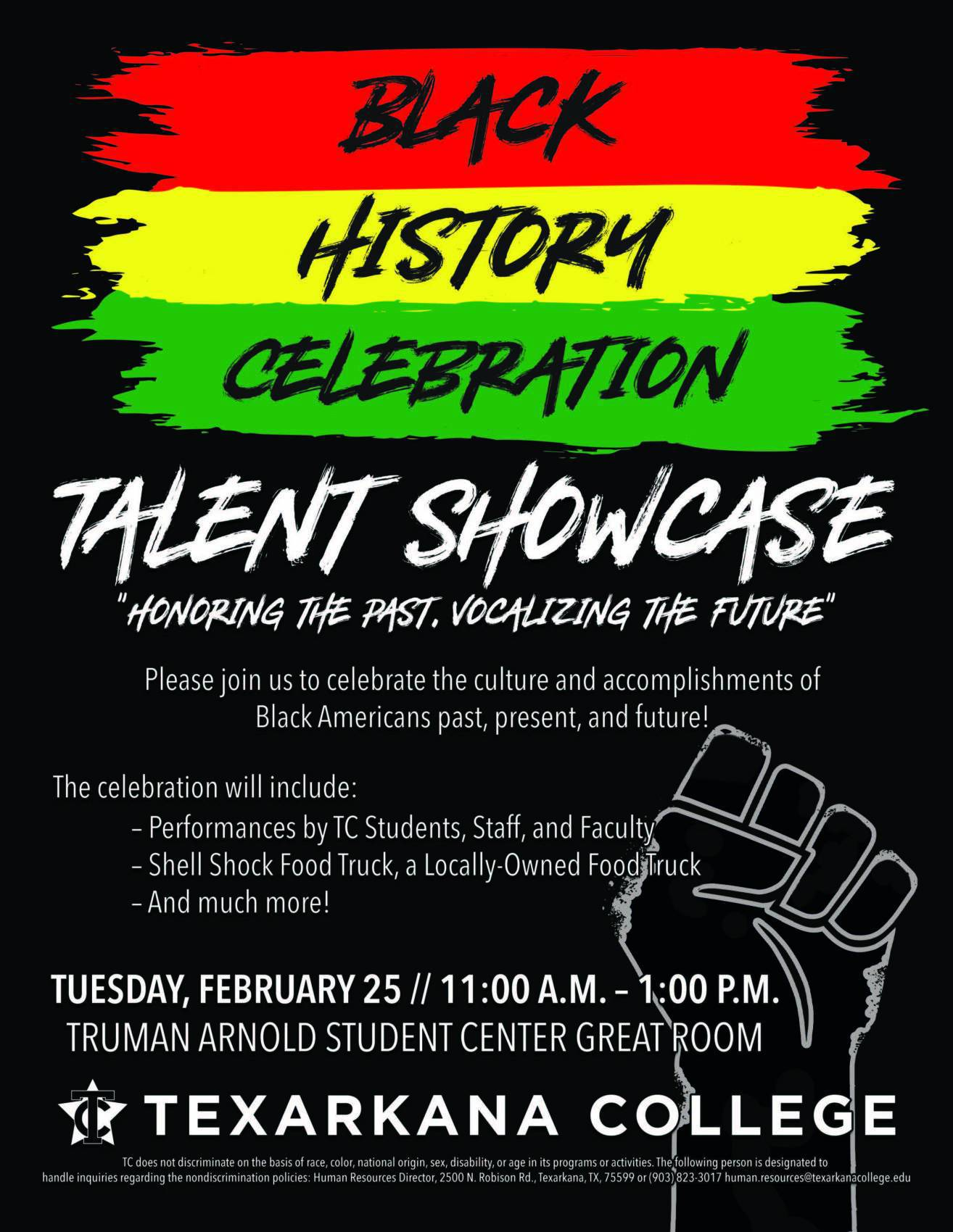 Black History Celebration Talent Showcase 2020