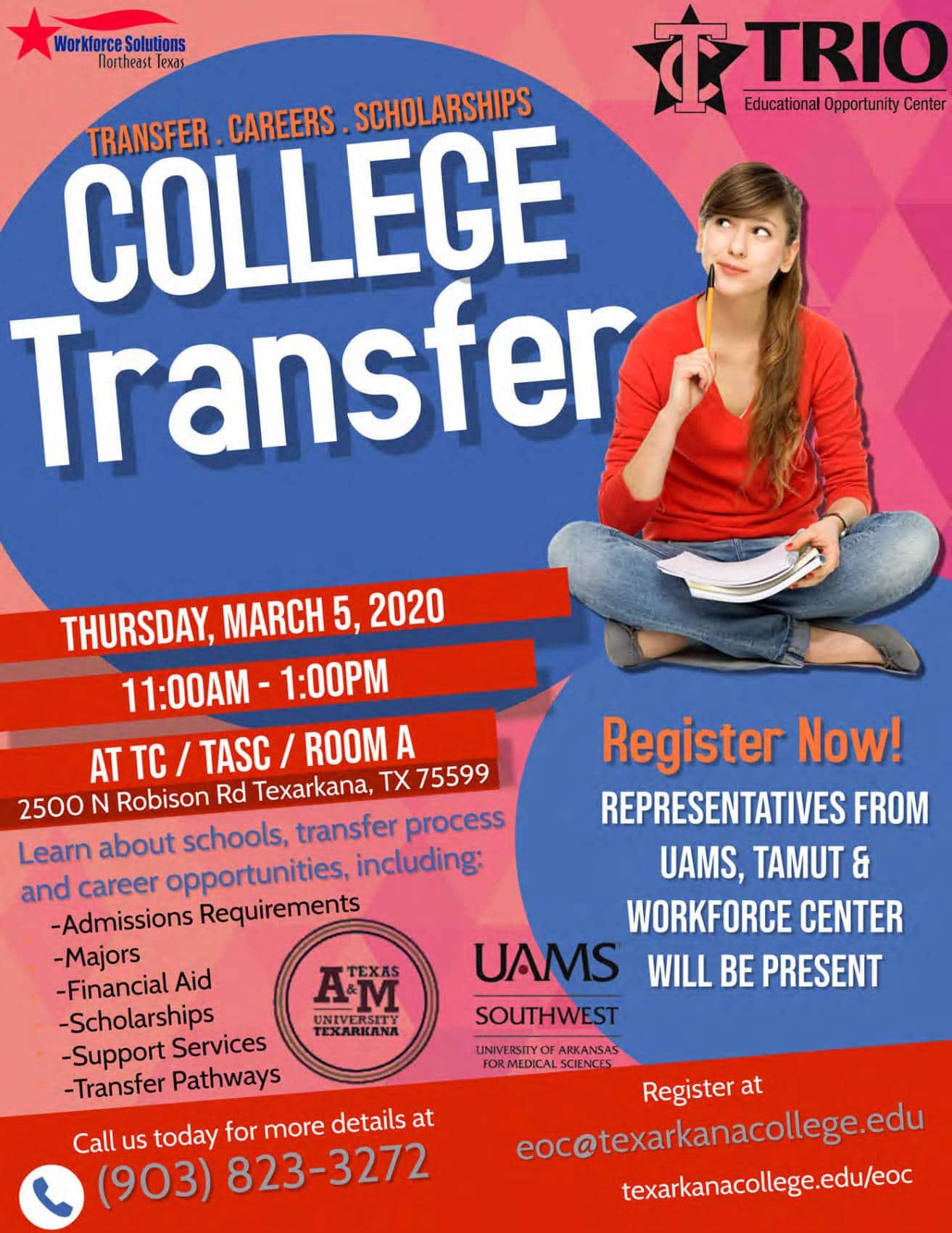 College Transfer Workshop