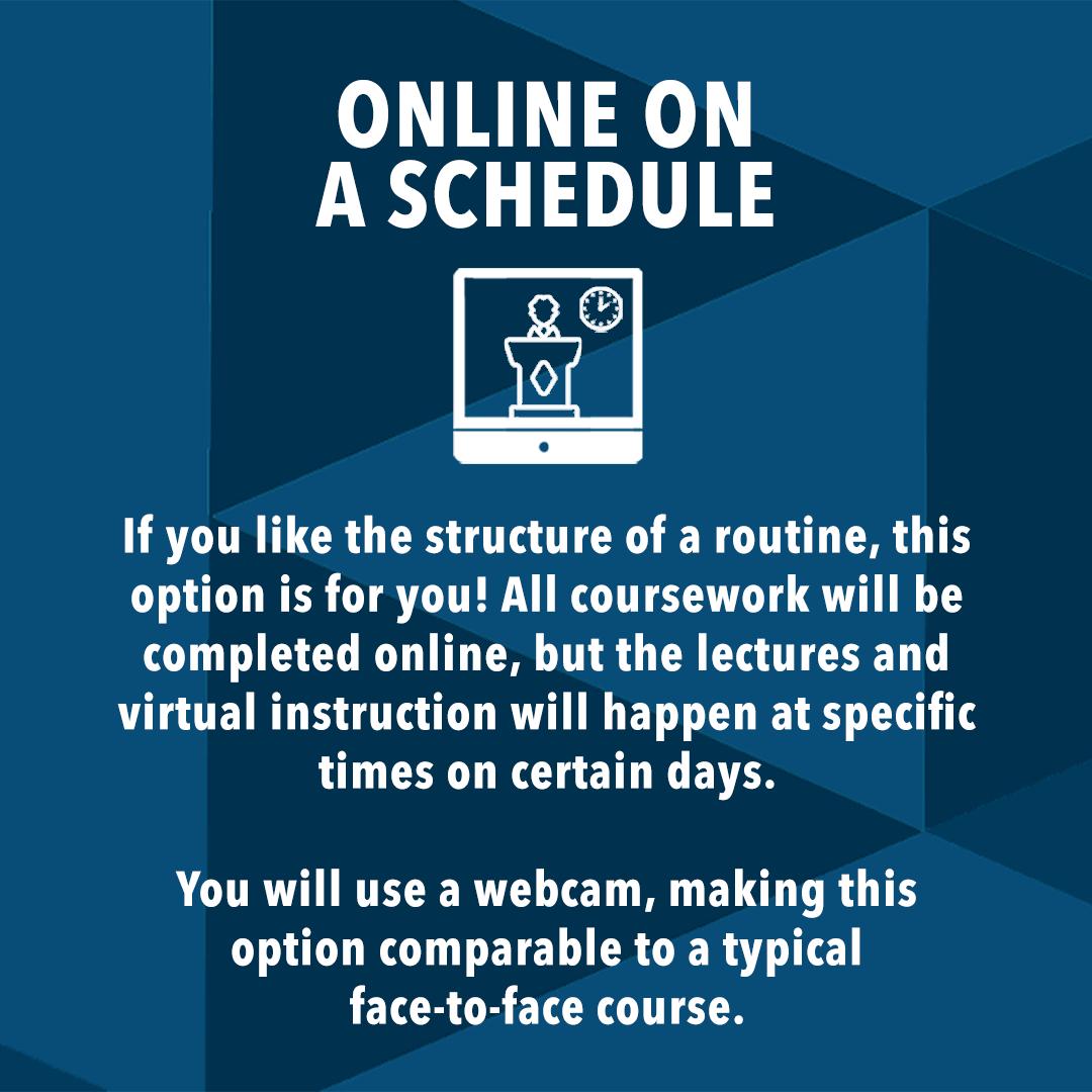 Online - Schedule