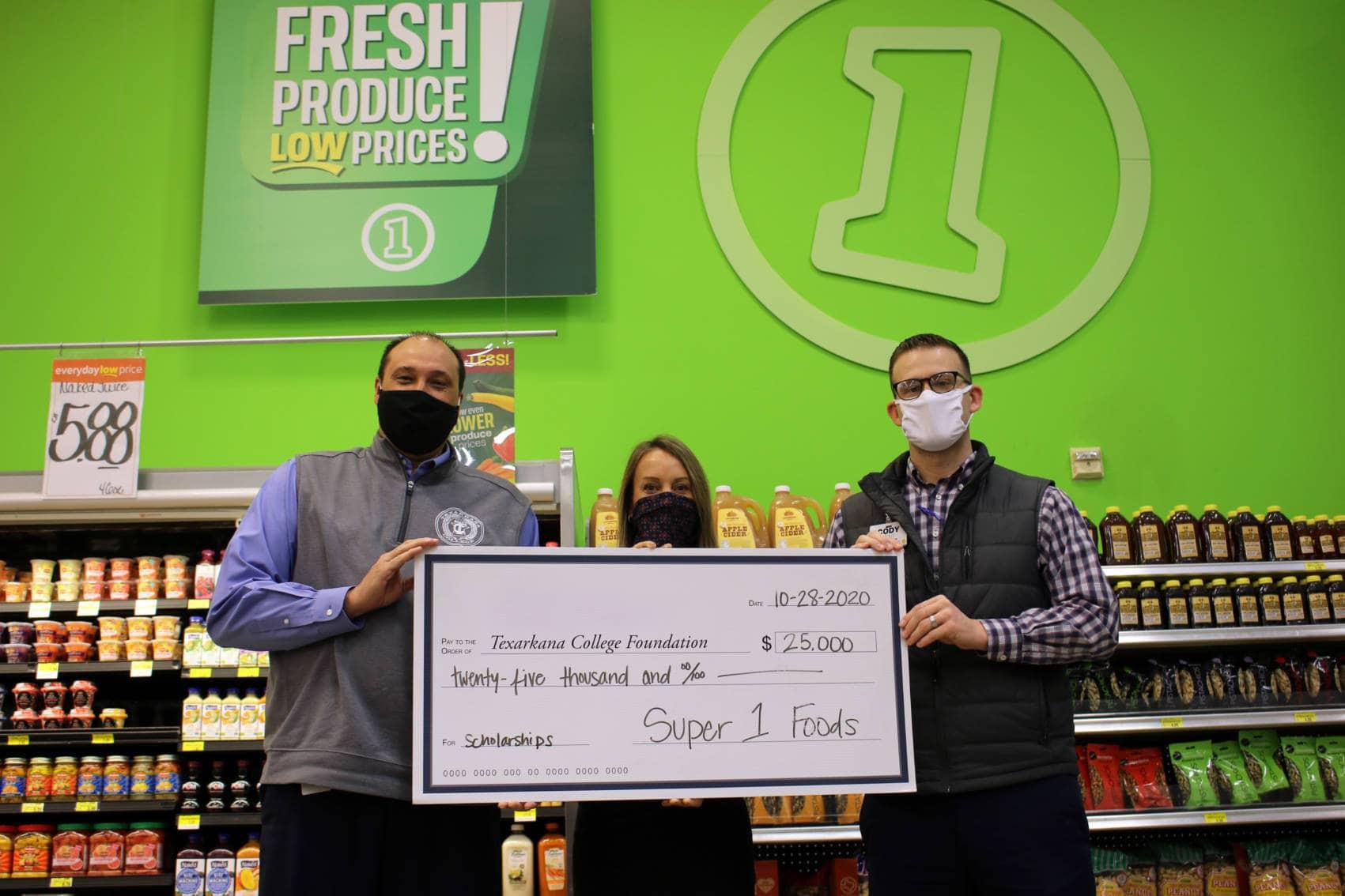 Super 1 Foods endowment donation