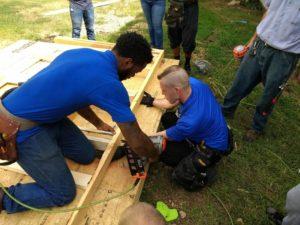 Texarkana College Construction Students at work