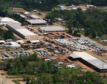 Aerial view of the Ledwell campus