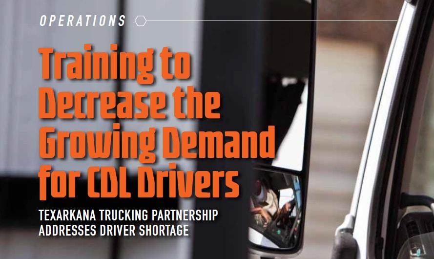 Texarkana Trucking Partnership Addresses Driver Shortage