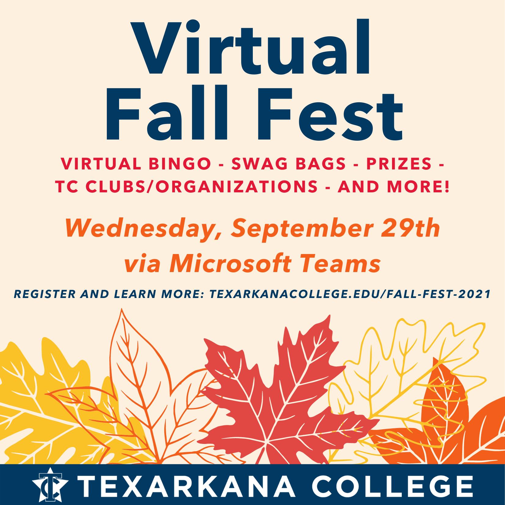 Virtual Fall Fest 2021