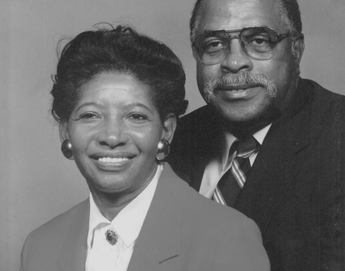 Shirley and Ed Finn Portrait